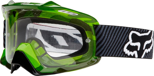 óculos fox airspc camo clear - trilha enduro motocross bike