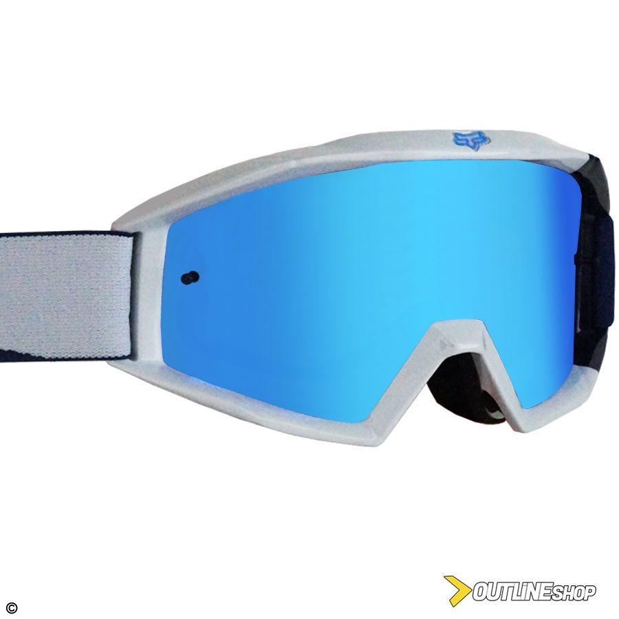 óculos fox main mastar navy lente espelhada anti-embaçante. Carregando zoom. 2fa1fbd842