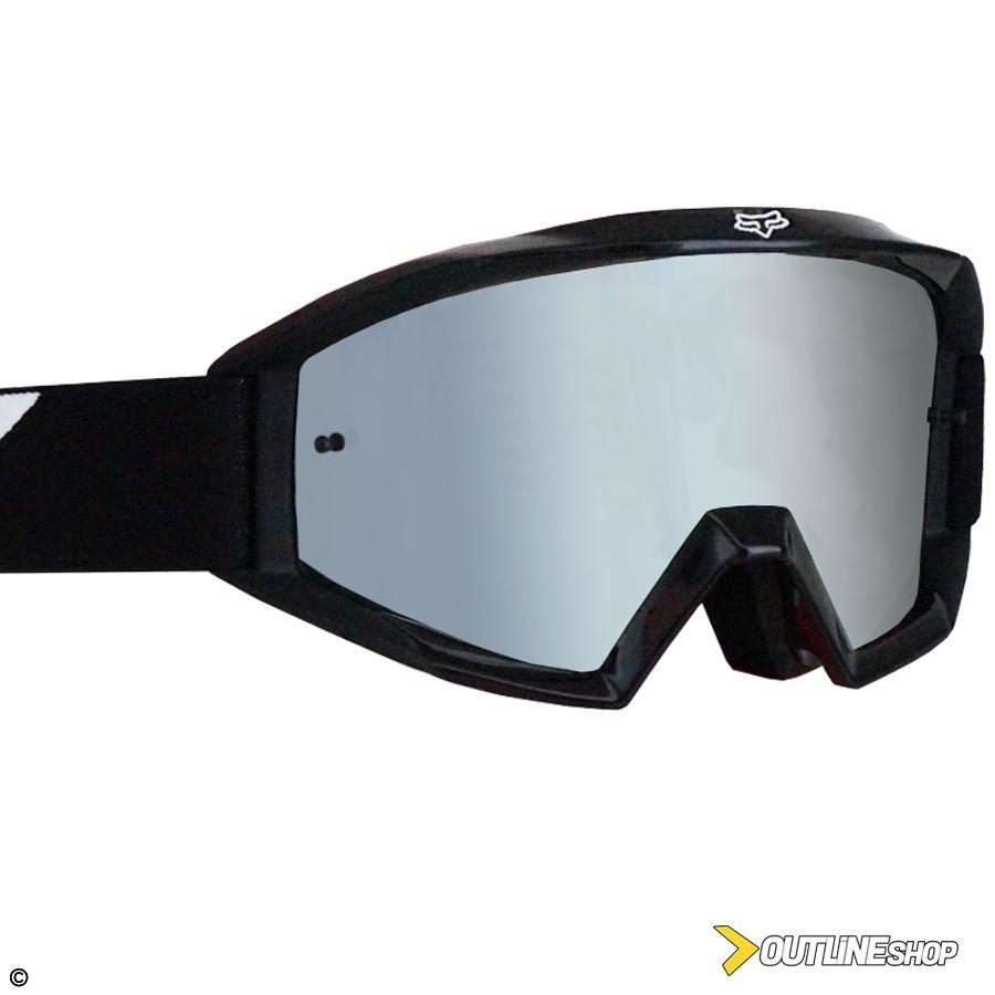 óculos fox main race black lente espelhada anti-embaçante. Carregando zoom. 3a12abb5a5