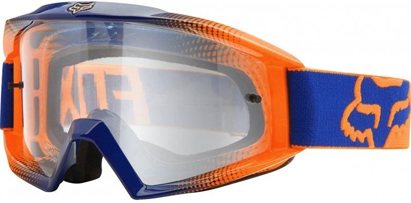 8b8cfb14e Óculos Fox Mx Main Race Laranja E Azul - R$ 379,00 em Mercado Livre