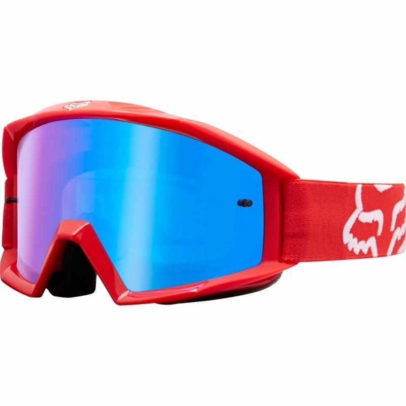 d250f8c08 Óculos Fox Mx Main Race Vermelho - Lente Azul - R$ 210,00 em Mercado ...