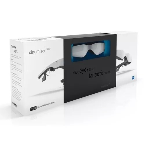 dcadbcecc82a9 Oculos Fpv Cinemizer 3d Calr Zeiss Oled - Óculos De Video - R  1.200 ...