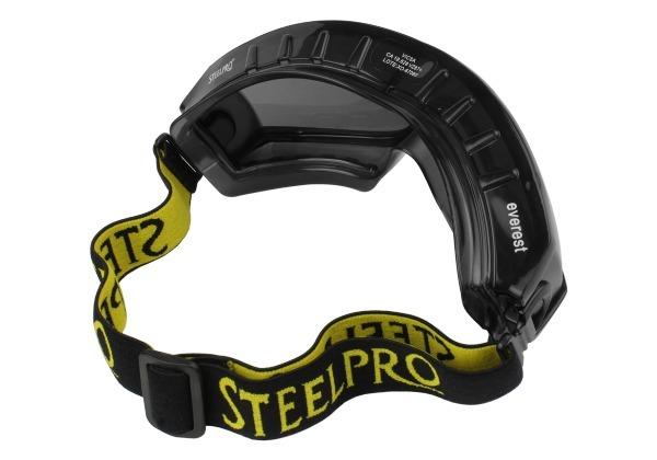9b4156be23e1c Óculos Fumê Segurança Everest Ampla Visão Paintball Esportes - R  43 ...