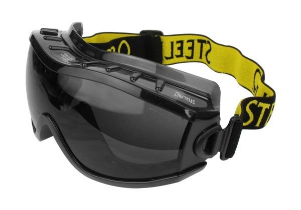89caa9a9c58e9 Óculos Fumê Segurança Everest Ampla Visão Paintball Esportes - R  43 ...
