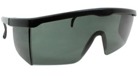 a21b1ae8f9844 Óculos Fume Preto + Brinde Nerf Dardo Proteção Hasbro - R  23,49 em Mercado  Livre