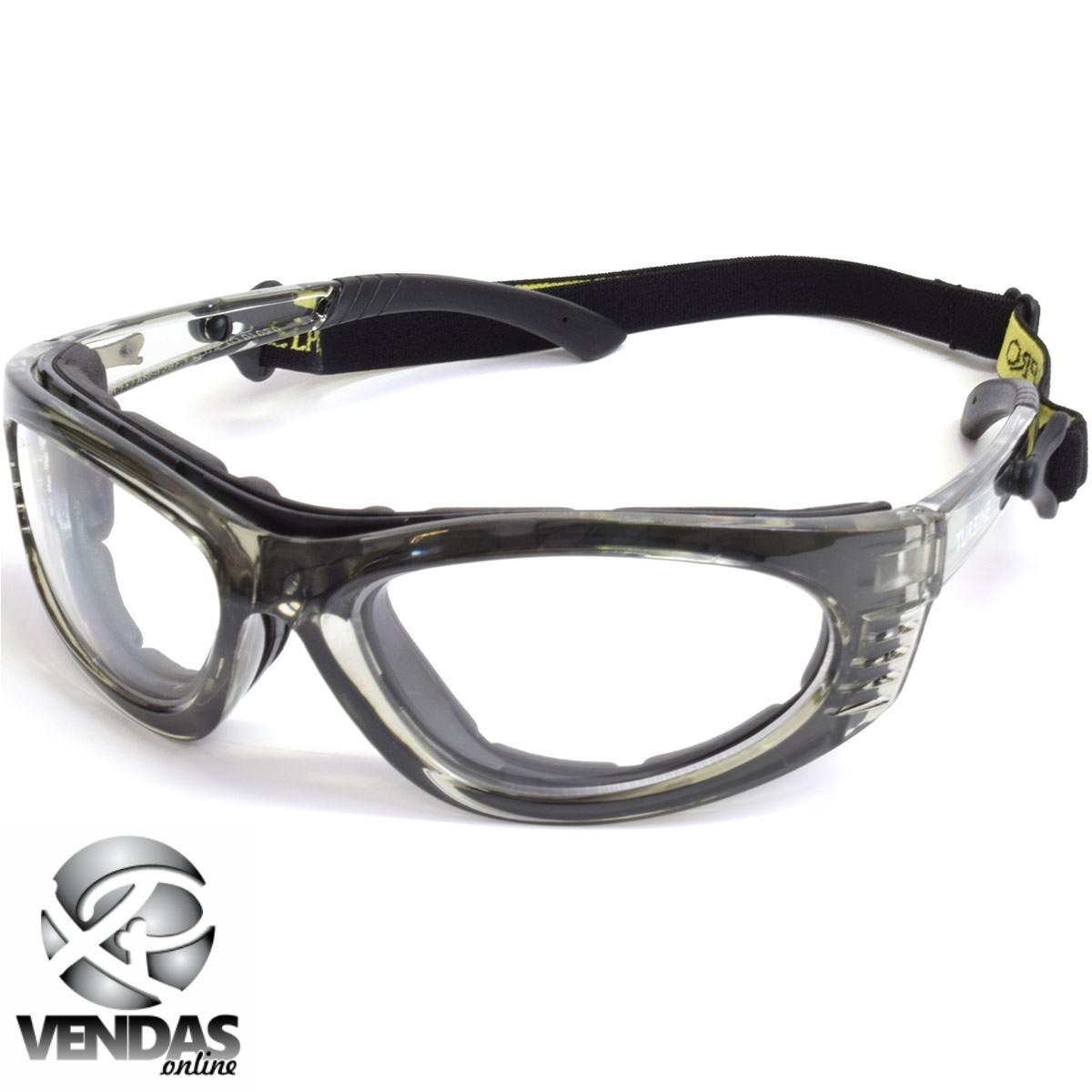 36a4d4cc3a2b8 Óculos Futebol Proteção Basquete Aceita Grau Volei Futevolei - R  39 ...