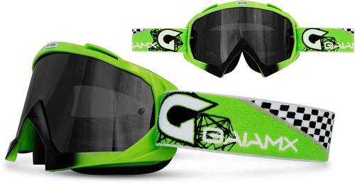 óculos gaia mx lizard para motocross trilha enduro bike