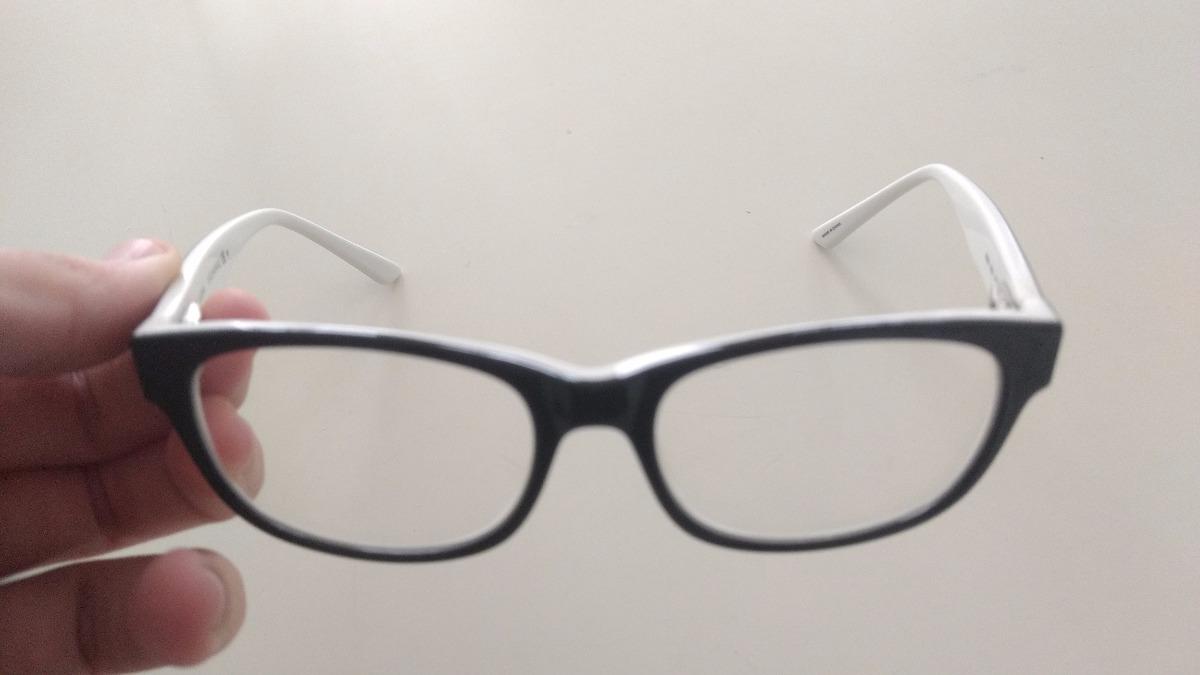 4727382ff óculos geek armani exchange preto branco original seminovo. Carregando zoom.
