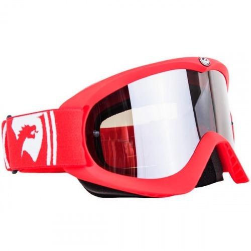 7d630e209ff5a Óculos Goggle Dragon Mdx Vermelho Fosco (adulto) - R  196,92 em ...