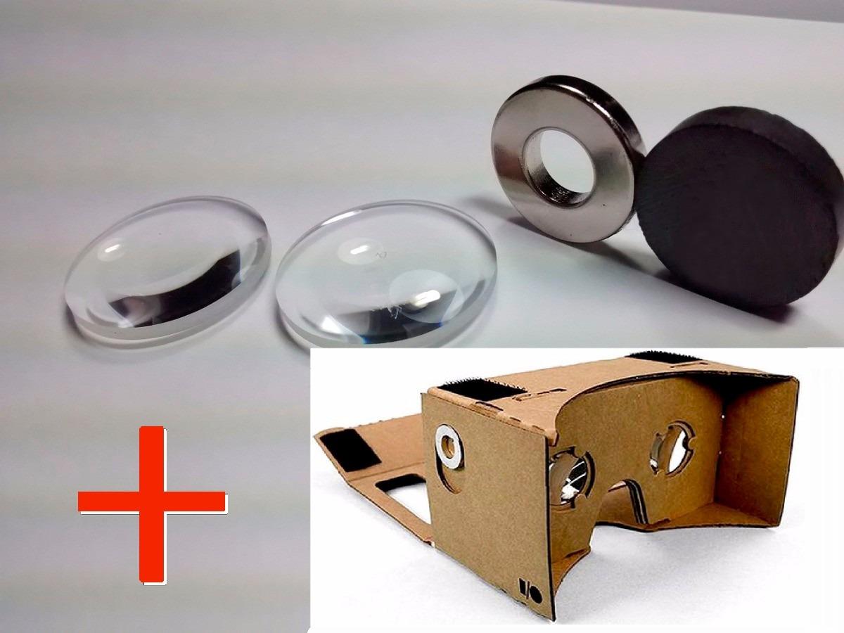 Oculos Google Cardboard Óculos Virtual Projeto Original - R  29,99 ... 6d749acf8a