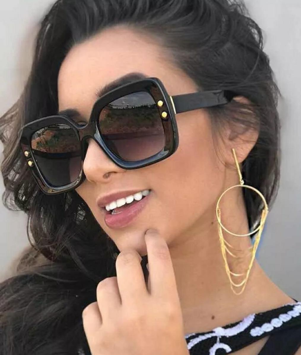 eaf861d13 óculos grande de luxo chiquerrimo modelo quadrado novo 2019. Carregando  zoom.