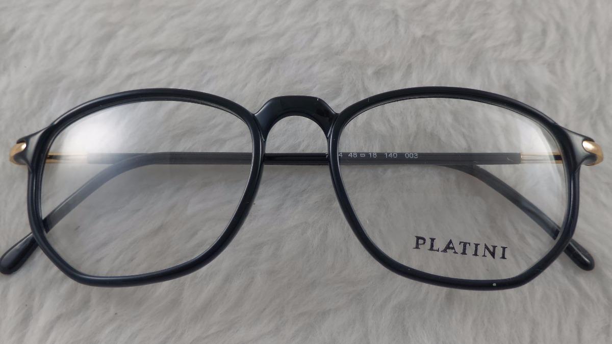 Óculos Grau, Acetato,  platini, Mola Nas Hastes, M-2404 - R  63,41 ... 5b0e1f6b25