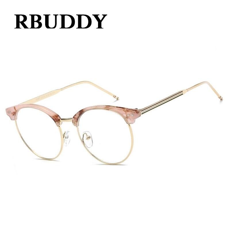 df405ffbe9011 óculos grau acetato rosa dourado redondo vintage gatinho. Carregando zoom.