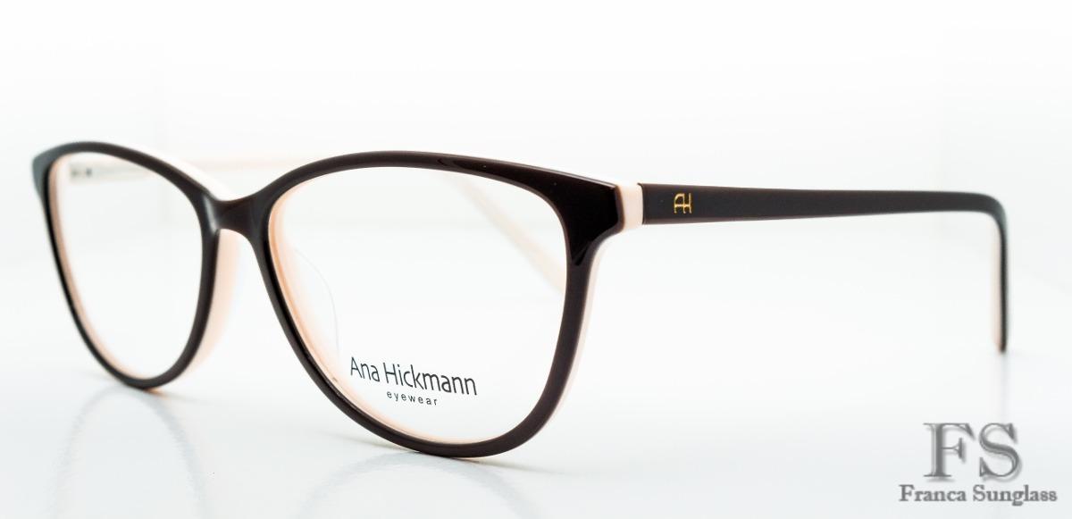 84626d5e7167f óculos grau ana hickman stilo gatinho original frete grátis. Carregando  zoom.