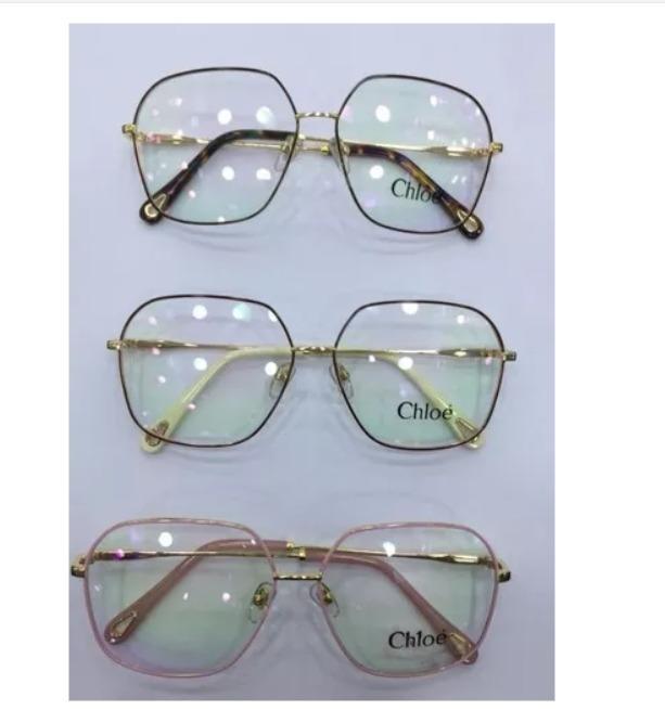 6544ee1cb0675 Oculos Grau Chloe Grande Todas As Cores Proprio Luxo Case - R  75,00 ...