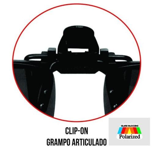 9cc587653 Óculos Grau Clip-on Marine Sports Polarizado Proteção 100% - R$ 35 ...
