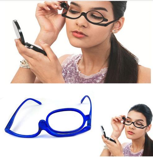 Óculos Grau Com Lente Móvel Auto Maquiagem Aumenta 3,5 Make - R  42,00 em  Mercado Livre 315bf9685b