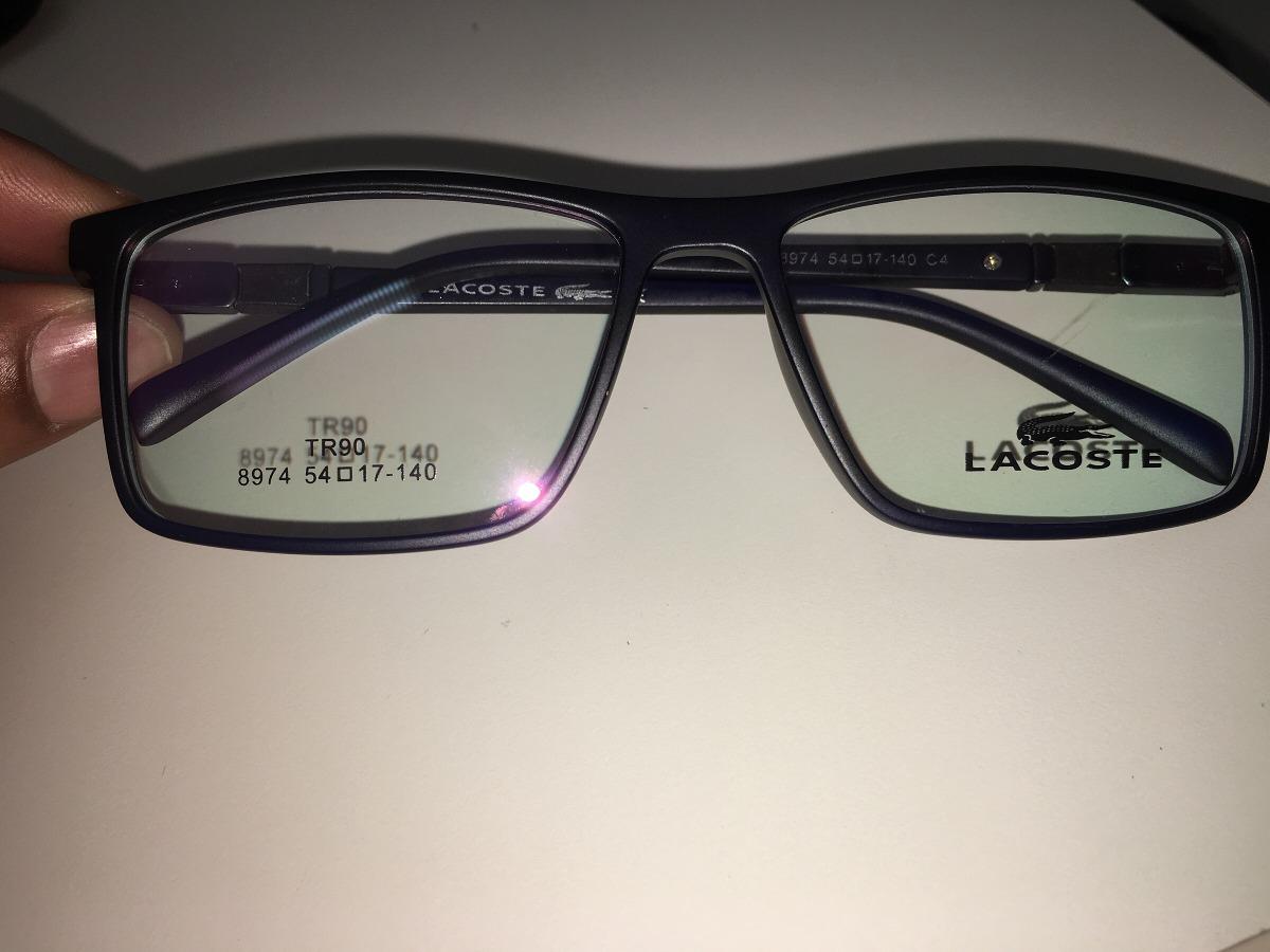 976882bfceb55 óculos grau lacoste frete gratis. Carregando zoom.