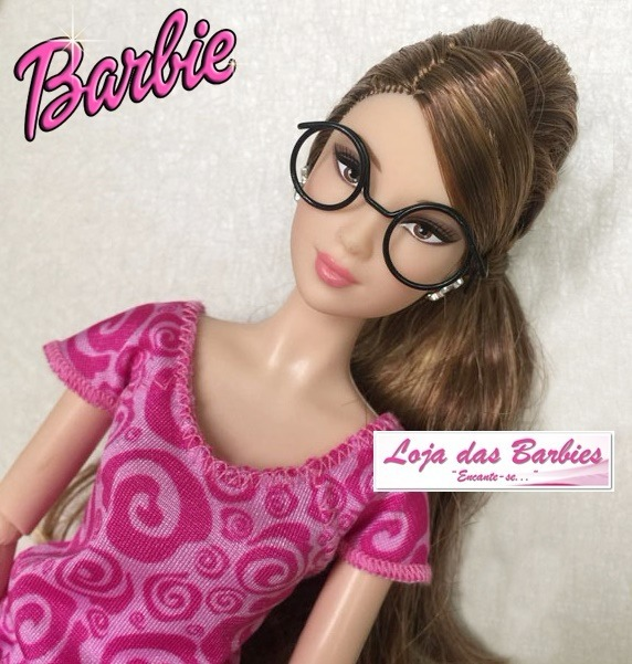 f5f84e7d7 Óculos Grau Para Boneca Barbie Susi Ken Fashion Royalty - R$ 19,00 em  Mercado Livre