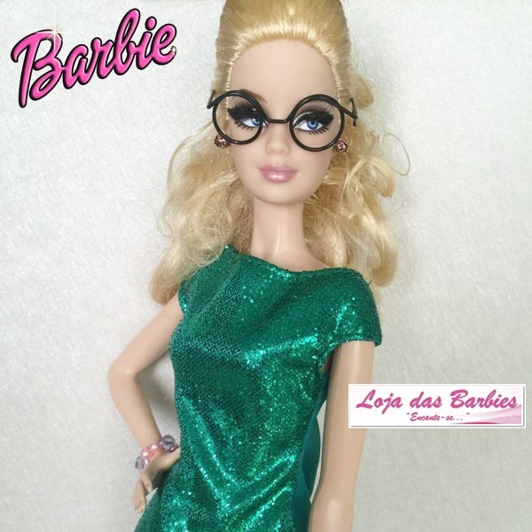 b98529092 Óculos Grau Para Boneca Barbie Susi Ken Fashion Royalty - R$ 19,00 ...
