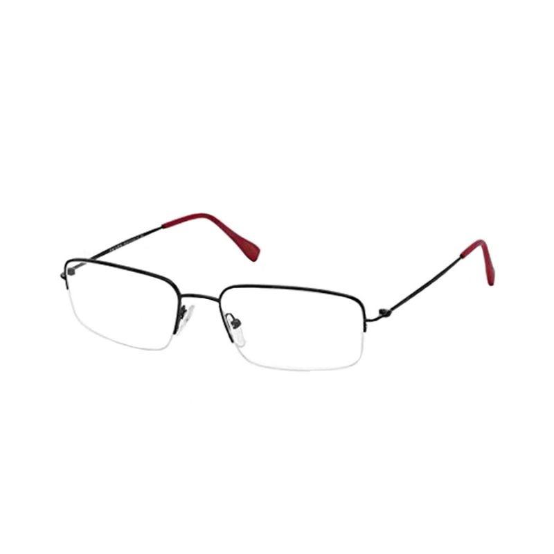 Óculos De Grau Prada Linea Rossa Ps51fv 7ax-1o1 55x18 145 - R  530 ... 9620384445