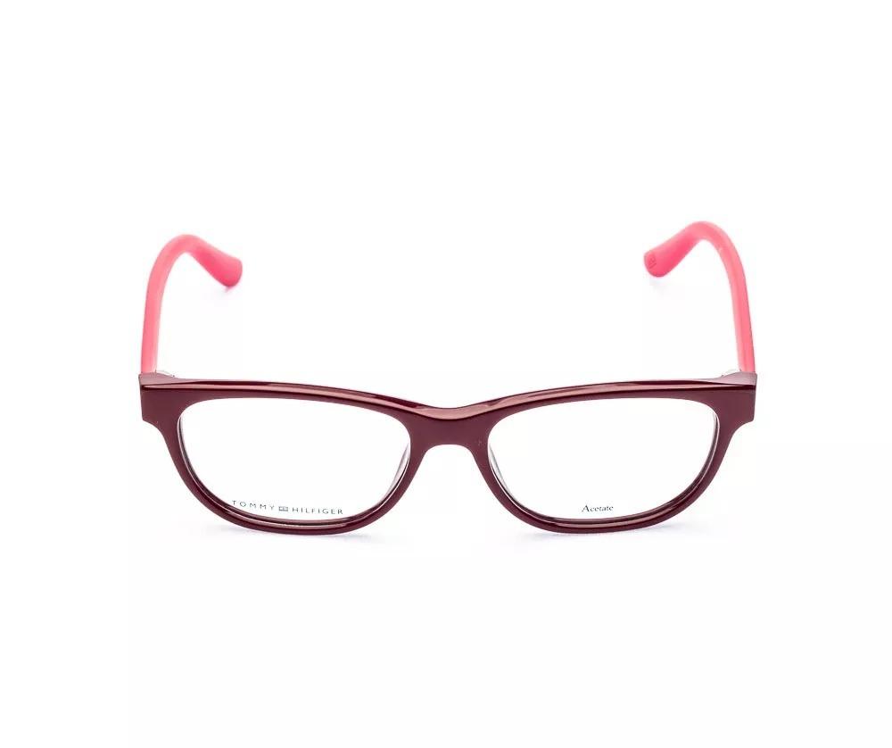 409568d348fab Óculos De Grau Tommy Hilfiger Th 1417 Vyx 5,2 Cm - R  359,00 em ...