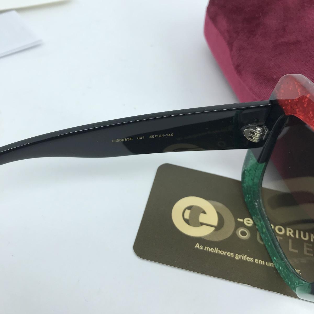 3bef8bc1d065a oculos gucci original gg0083s oportunidade. Carregando zoom.