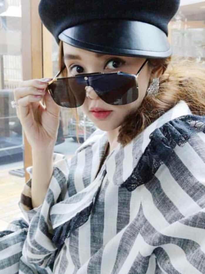 e960fa3828297 óculos gucci preto máscara chanfrado novo original. Carregando zoom.