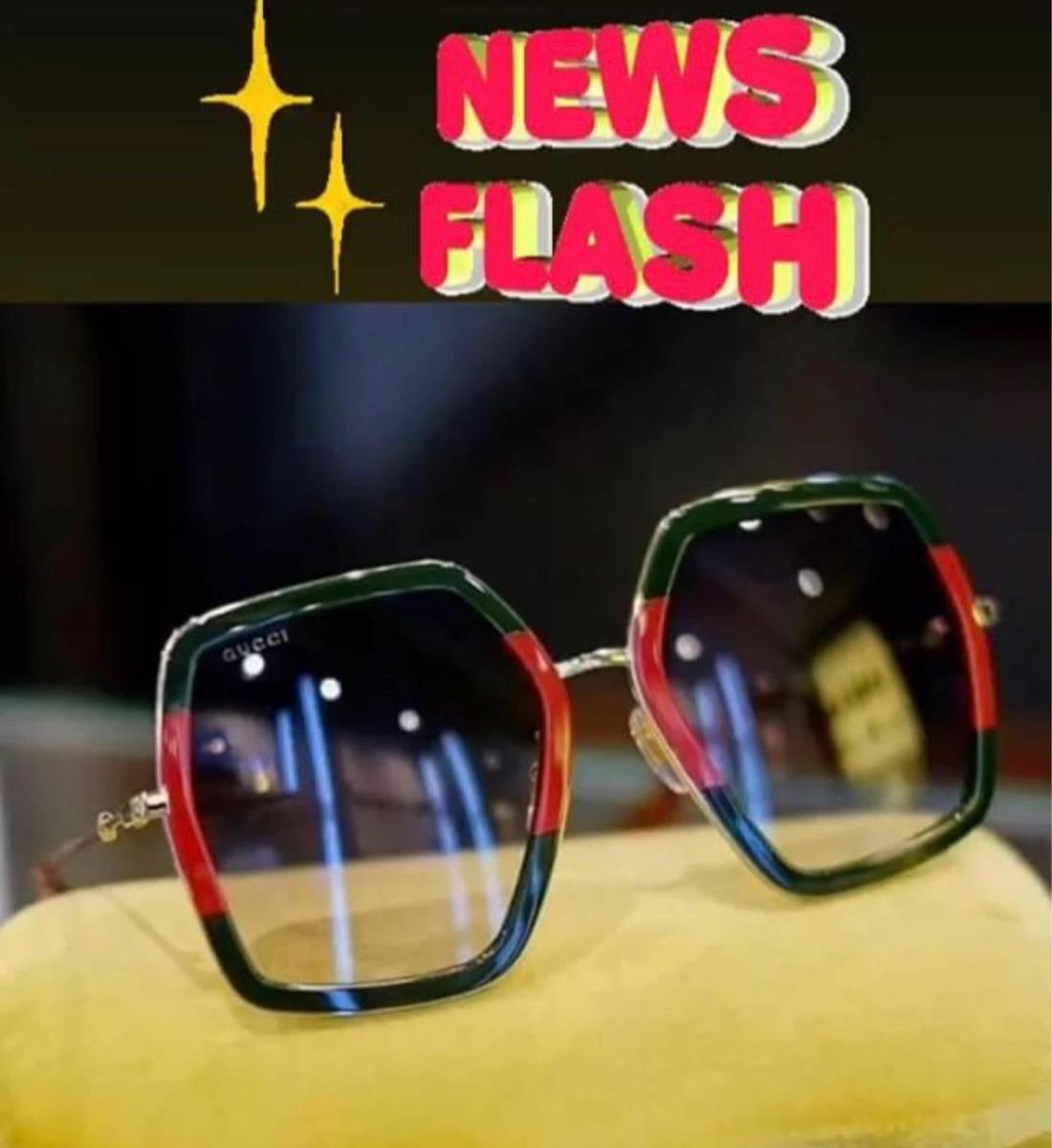 23ad5048a Óculos Gucci Quadrado Frete Grátis Original - R$ 1.098,90 em Mercado ...