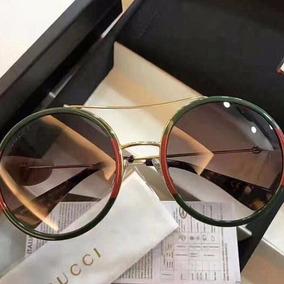 593225e11 Oculos De Sol Gucci Vermelho - Óculos no Mercado Livre Brasil