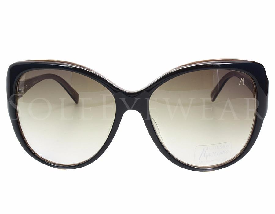 3b0cd0c3af8d2 Óculos Guess By Marciano Gm640 Preto E Marrom Com Strass - R  299