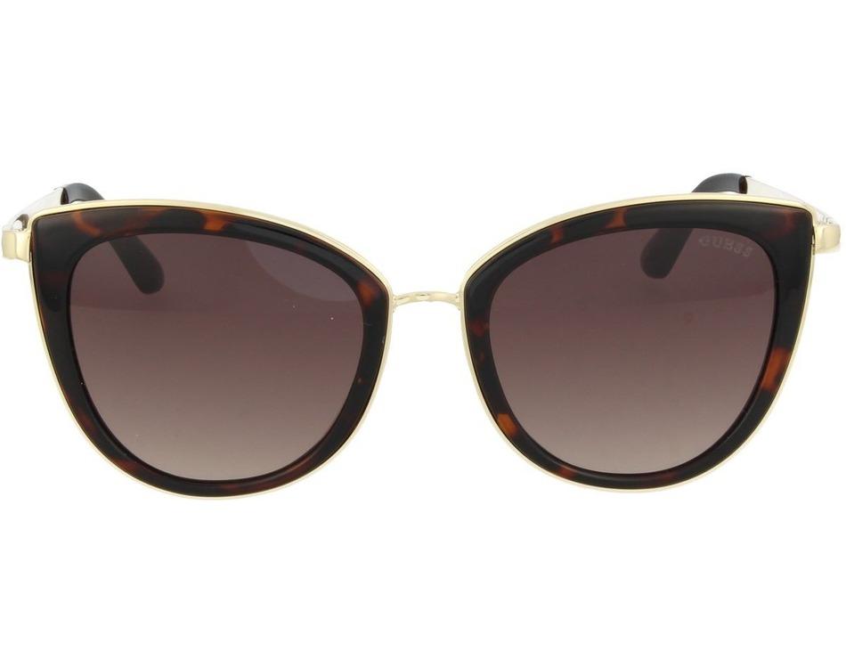 Oculos Guess Gu7491 52f Marrom   Dourado Original - R  414,00 em ... 02ea9191d1