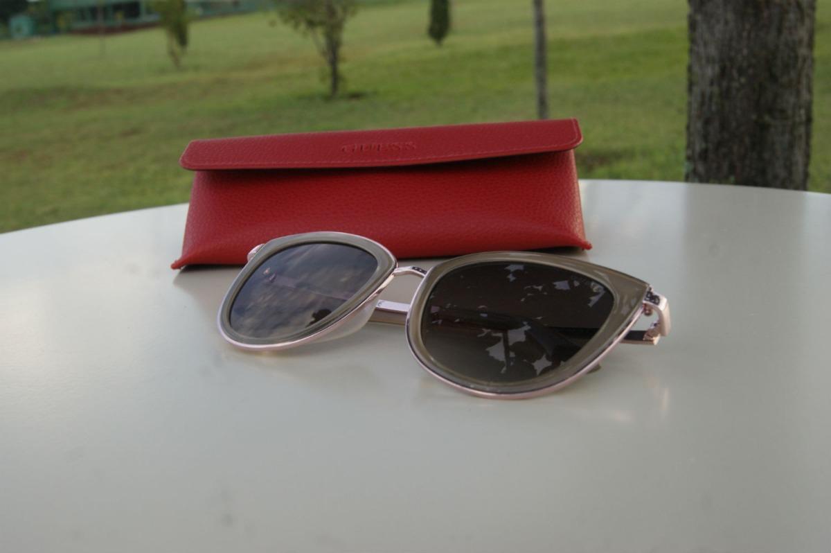 ebcf4f77fed6e oculos guess gu7491 57f rose gatinho original. Carregando zoom.