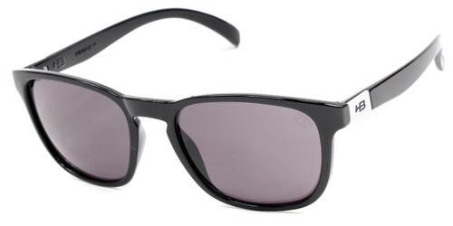 óculos hb dingo gloss black d. white