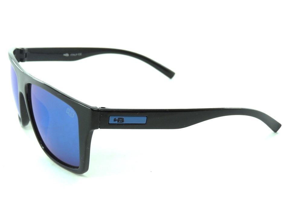 c0f275ecb007f Óculos Hb Floyd Matte Azul Masculino Proteção Uv400 - R  49,99 em ...