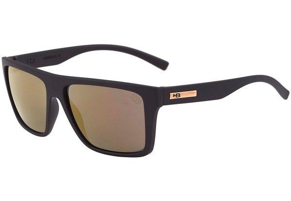cfd24de29 Óculos Hb Floyd Matte Black Gold Chrome - R$ 169,90 em Mercado Livre