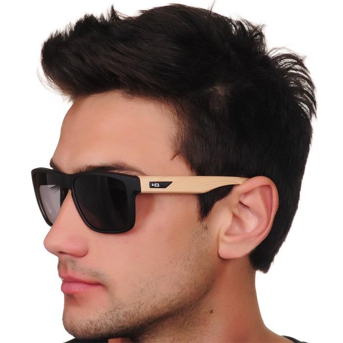 Óculos Hb H-bomb Matte Black Wood - R  179,90 em Mercado Livre b6a32ba470