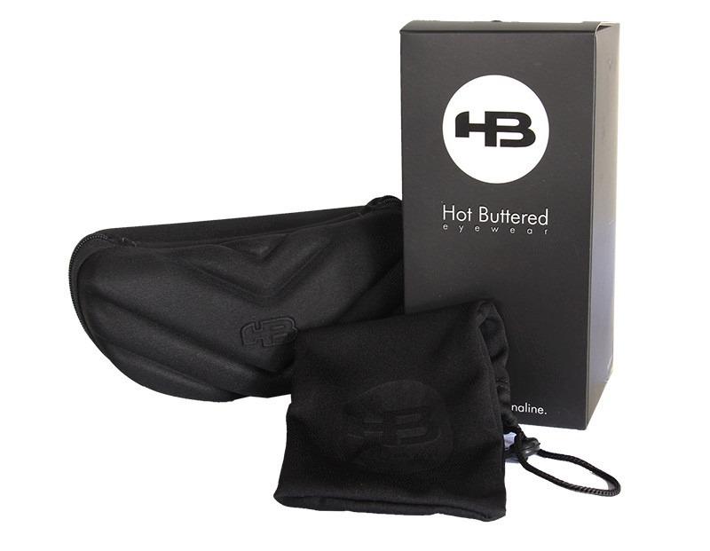 Óculos Hb H-bomb Matte Black gloss White Gray Lenses - R  229,90 em ... 3efb79810a