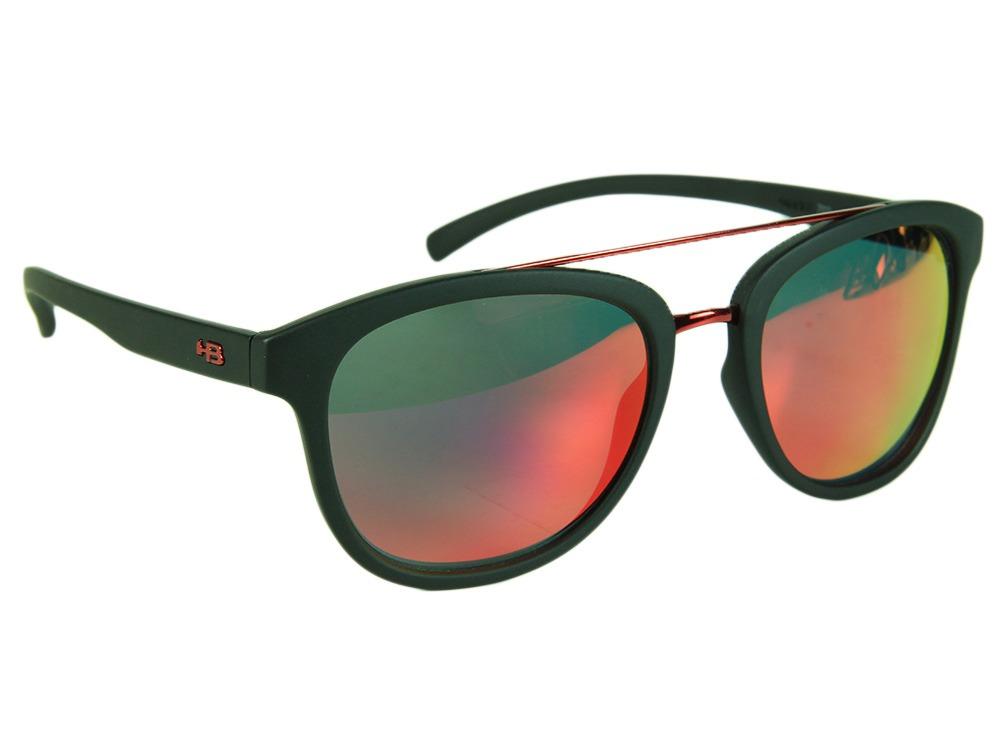 cea3538706545 Óculos Hb Moomba Gold Chrome Lenses - Black Matte - Unico - - R  347 ...