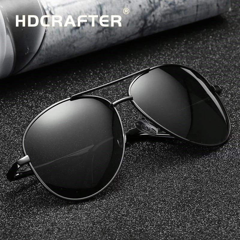 d35ccd0d2a4f0 Oculos Hdcrafter Estilo Aviador Top Frete Gratis - R  79