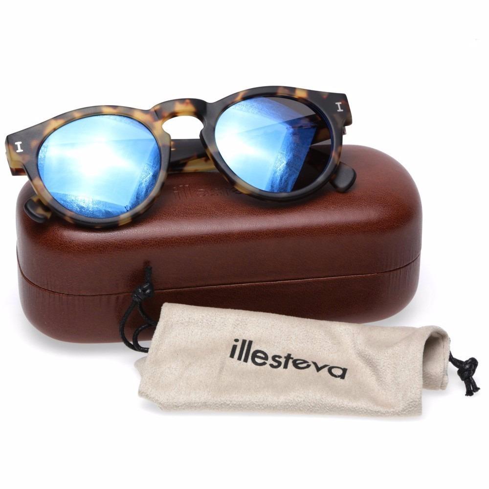Oculos Illesteva Leonard I Original Espelhado - R  699,99 em Mercado ... 32b02c8022