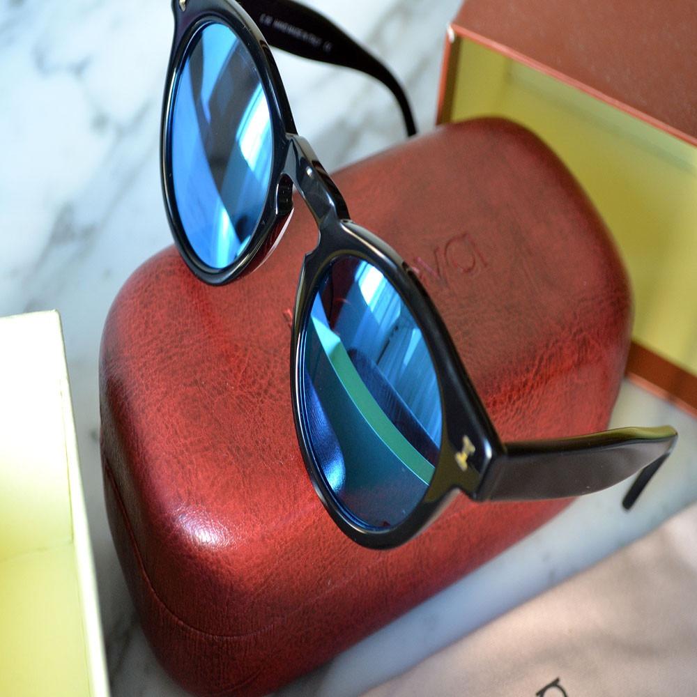 d18e4b34d06e3 Oculos Illesteva Original Leonard Azul Espelhado - R  589,00 em ...