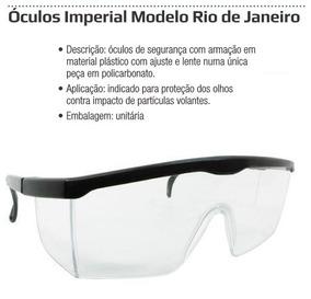 713f4b023 Óculos Imperial Modelo Rio De Janeiro Incolor no Mercado Livre Brasil