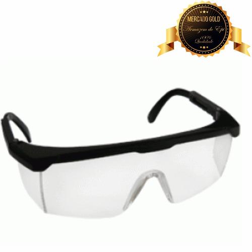 oculos incolor proteção epi construção proteplus promoção