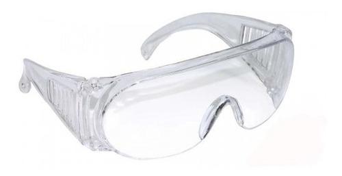 óculos incolor - proteção sobre óculos de grau