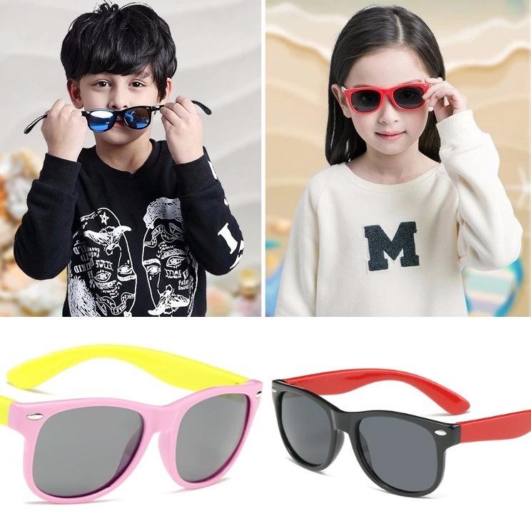 Óculos Infantil Crianças De Sol Verão Flexível +++resistente - R  69 ... 8af7d8ce0c