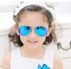 dbe0becbf Óculos De Sol Infantil Estilo Aviador Réplica Espelhado - Óculos no Mercado  Livre Brasil