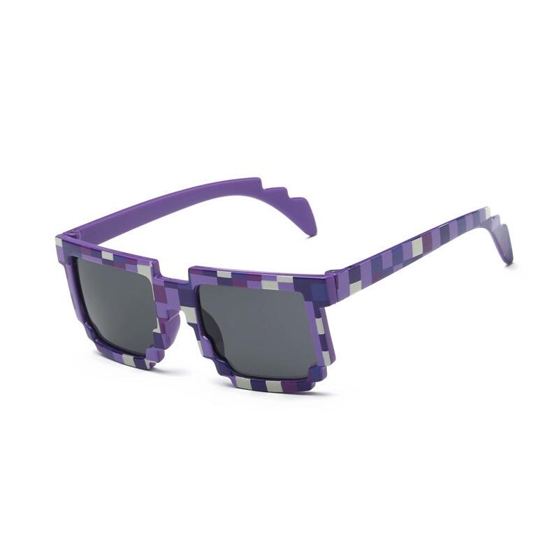 Óculos Infantil Minecraft Pixel Game(import.)lentes Uv 400 - R  13 ... 5b5b89c27f