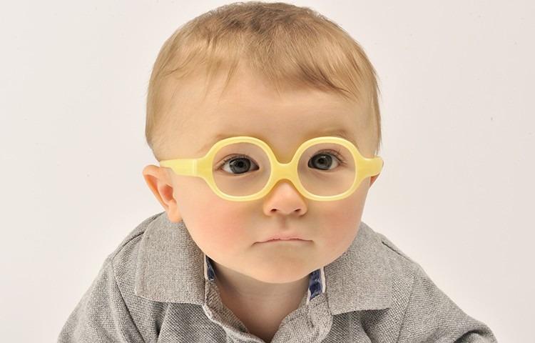 Óculos Infantil Miraflex Amarelo Flexível - Bebê Até 2 Anos - R  299 ... 7223029058