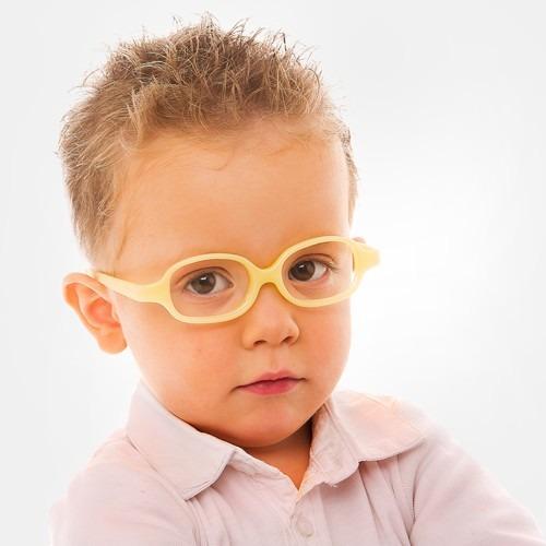 Óculos Infantil Miraflex Flexível Amarelo Baby Plus 2 5 Anos - R ... 2d14fca5b0